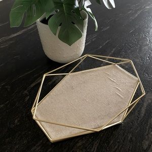 Urban outfitters gold tray